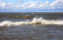 Baltic sea, Gulf of Finland Stock Photos