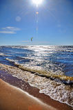 Baltic Sea, Jurmala, Latvia Stock Images