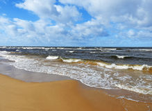 Baltic sea landscape view. Royalty Free Stock Image