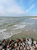 Baltic sea, Lithuania Stock Photography
