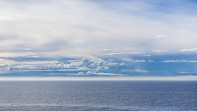Baltic Sea. Morning on Baltic Sea near the southern coast of Finland Stock Photography