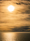 Baltic Sea. Morning on Baltic Sea near the southern coast of Finland Stock Images