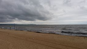 Baltic Sea morning view Stock Image