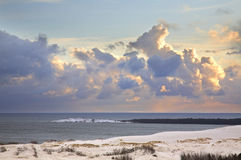 Baltic sea in Nida. Curonian Spit. Lithuania Stock Photos