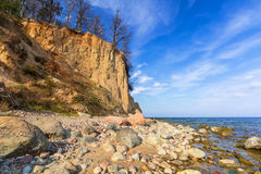 Baltic Sea at the Orlowo cliff Royalty Free Stock Photo