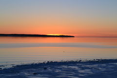 Baltic sea. In Paldiski, Estonia Royalty Free Stock Photography