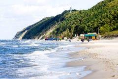 Baltic Sea Poland Wolin - coast Stock Photo