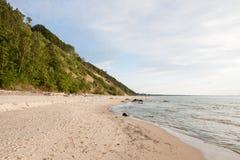 Baltic Sea Poland Wolin Royalty Free Stock Photo