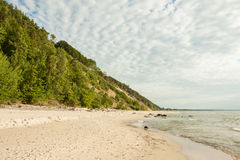 Baltic Sea Poland Wolin Royalty Free Stock Images