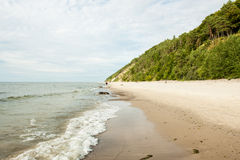 Baltic Sea Poland Wolin Stock Images