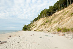 Baltic Sea Poland Wolin Royalty Free Stock Photos