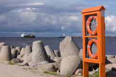 Baltic Sea port Royalty Free Stock Image