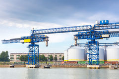Baltic Sea port Ventspils Royalty Free Stock Image