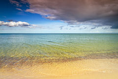 Baltic Sea with sandy beach Stock Photography