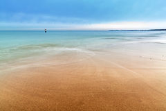 Baltic sea scenery in winter time. Poland Royalty Free Stock Image
