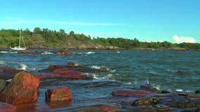 Baltic sea stock footage
