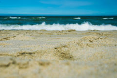 The Baltic Sea from the shore Royalty Free Stock Photography