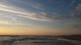 Baltic sea and sky. The baltic sea amazing sky Stock Image
