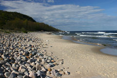 Baltic sea, Stenshuvud, Sweden Royalty Free Stock Photography