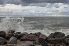 Baltic Sea. Stones on the beach. Baltic Sea Stock Photos