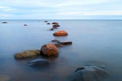 Baltic sea stones. Royalty Free Stock Photo