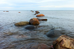 Baltic sea stones. Royalty Free Stock Images