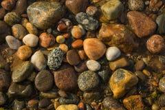 Baltic sea stones Stock Photos