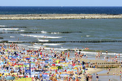 Baltic sea at summer day. Stock Photos