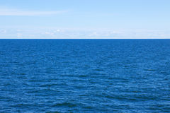 Baltic sea in summer. View over the Baltic sea on a calm summer day Royalty Free Stock Photography