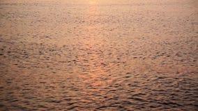 The Baltic sea at sunrise stock video