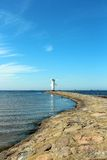 Baltic Sea in Swinoujscie Stock Photography