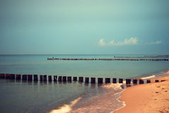 Baltic sea twilight Royalty Free Stock Photo