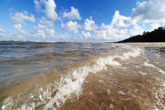 Free Baltic Sea Water. Stock Images - 77617374