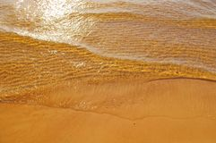 Baltic sea waves Stock Photography