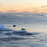 Baltic Sea Winter Stock Photography