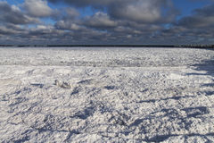 Baltic sea in winter. Royalty Free Stock Photography