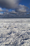 Baltic sea in winter. Royalty Free Stock Images