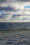 Baltic sea in winter. Stock Image
