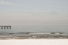 Baltic sea in winter Royalty Free Stock Photography