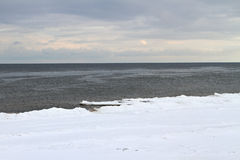 Baltic sea in a winter. Stock Photography