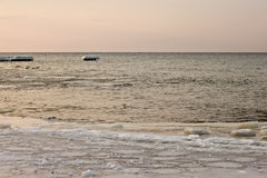 Baltic Sea in the winter. Royalty Free Stock Photos
