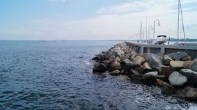 The Baltic Sea, yachts Royalty Free Stock Photo
