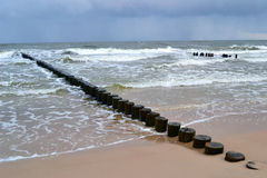 Baltic seacoast Stock Photo