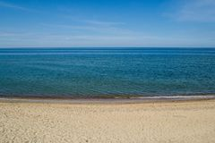 The Baltic seascape, summer royalty free stock photography
