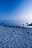 Baltic Seaside After Sunset Royalty Free Stock Images