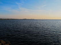 Baltic seaside Malmo Sweden Royalty Free Stock Photography