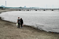 Baltic seaside Malmo Sweden Royalty Free Stock Images