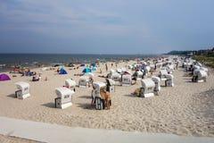 Baltic seaside resort Royalty Free Stock Images