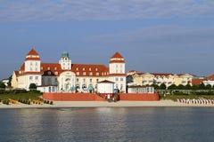 Baltic Seaside Resort in Binz at Ruegen, Baltic Sea, Germany. Baltic Seaside Resort in Binz at Ruegen Island, Mecklenburg-Western Pomerania, Germany, Europe Stock Photo