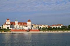 Baltic Seaside Resort in Binz at Ruegen, Baltic Sea, Germany. Baltic Seaside Resort in Binz at Ruegen Island, Mecklenburg-Western Pomerania, Germany, Europe Stock Photography